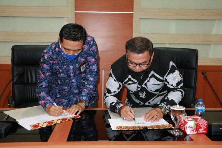 Pemkab Bungo-Ombudsman Provinsi Jambi teken perjanjian kerja sama