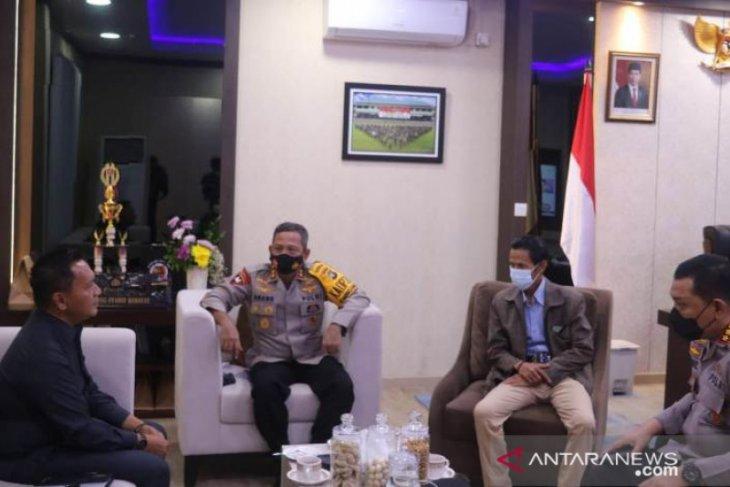 Silaturahmi ke Kapolda Babel, Ketua DPRD minta dukungan jalankan tugas