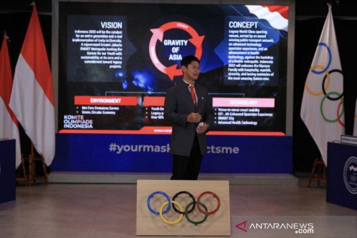 Inilah Indonesia dalam peta pencalonan tuan rumah Olimpiade 2032