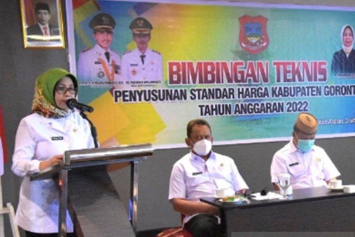 Pemkab Gorontalo susun standar harga barang dan jasa
