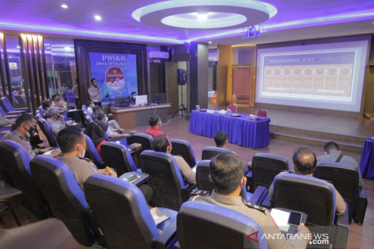 Dirlantas Polda Jambi koordinasi pemberlakuan tilang elektonik dengan Dishub dan Pos Indonesia