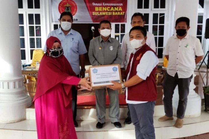 IKA Unhas Gorontalo kirim bantuan untuk korban bencana di Sulbar