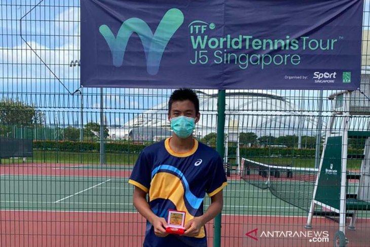 Nathan Barki menangi gelar kedua di Singapura