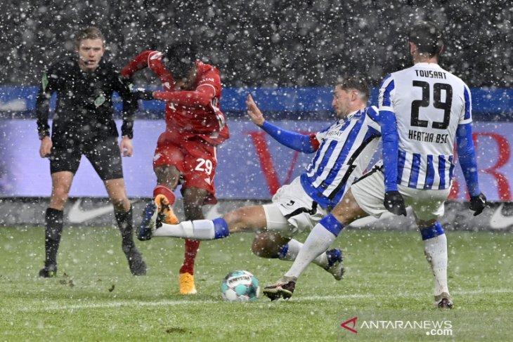 Liga Jerman, gol tunggal Coman pastikan raihan tiga poin Bayern di Berlin