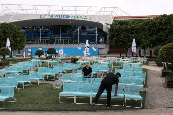 Kecemasan jelang kejuaraan tenis Australian Terbuka mereda