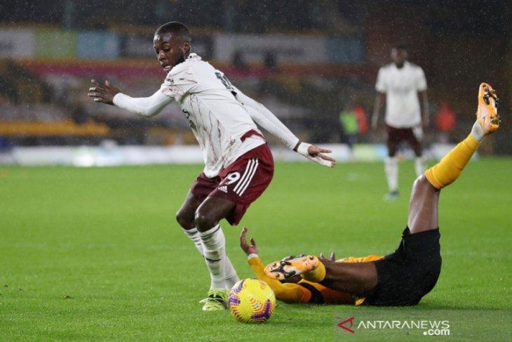 Liga Inggris: Arteta berharap Nicolas Pepe jaga performa apik