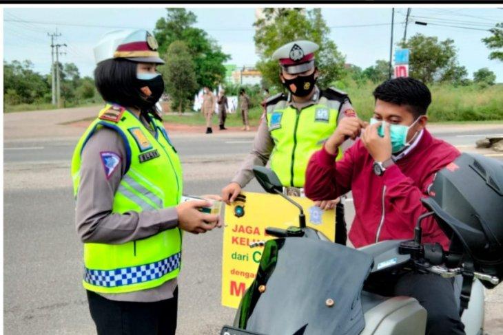 Polres Bangka Tengah gelar operasi yustisi protokol kesehatan
