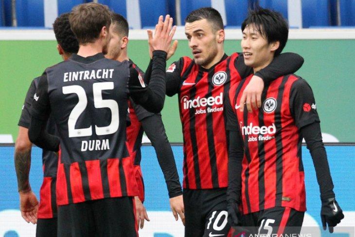 Liga Jerman, Frankfurt perpanjang catatan kemenangan setelah taklukkan Hoffenheim