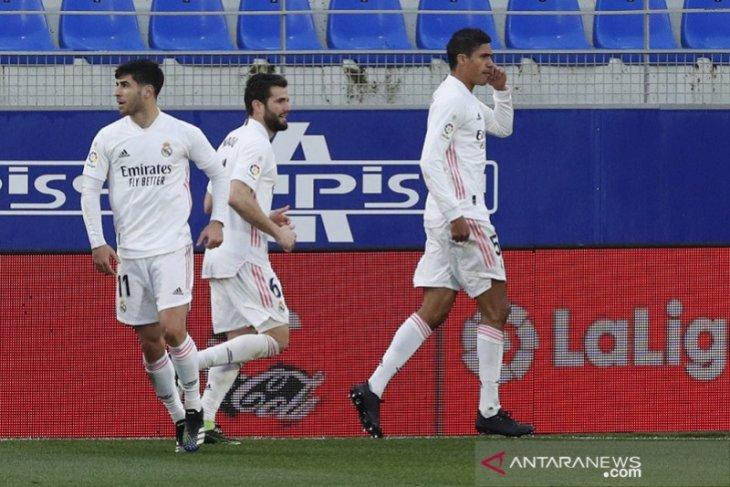 Varane antar Real Madrid balik kalahkan Huesca