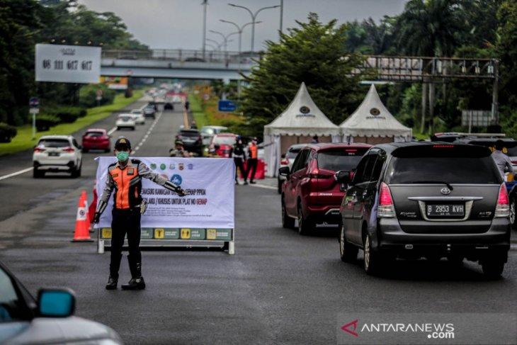Ganjil-genap kurangi kendaraan masuk Kota Bogor hingga 8.000 mobil