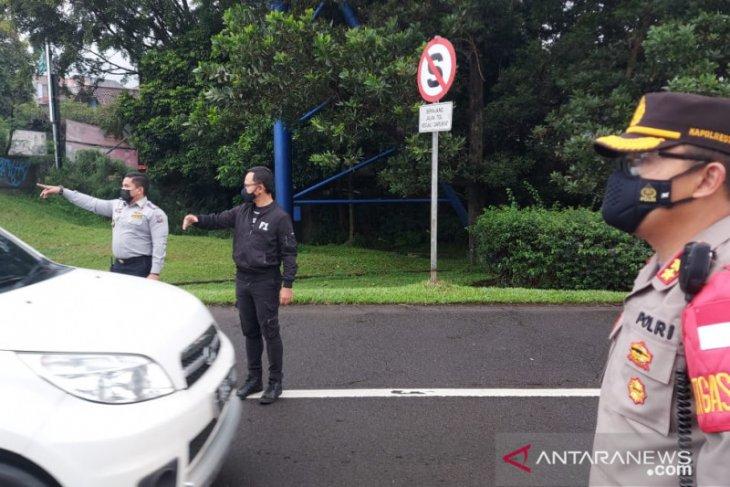 Ganjil-genap pada hari Sabtu di Kota Bogor putar balik 5.182 kendaraan
