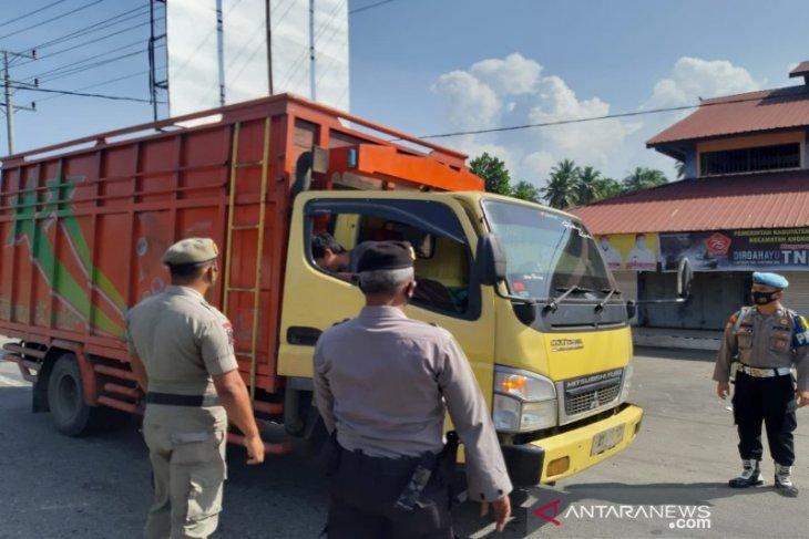 155 pelanggar prokes di wilayah hukum Polres Tapsel dapat sanksi