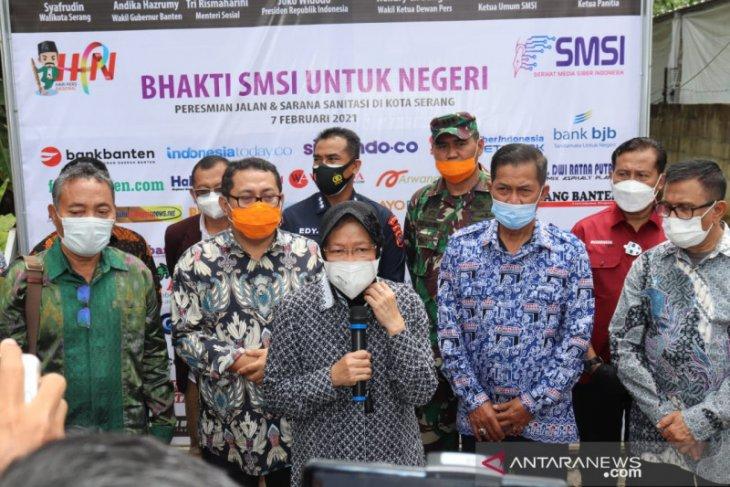 Menteri Sosial apresiasi langkah kemanusiaan SMSI