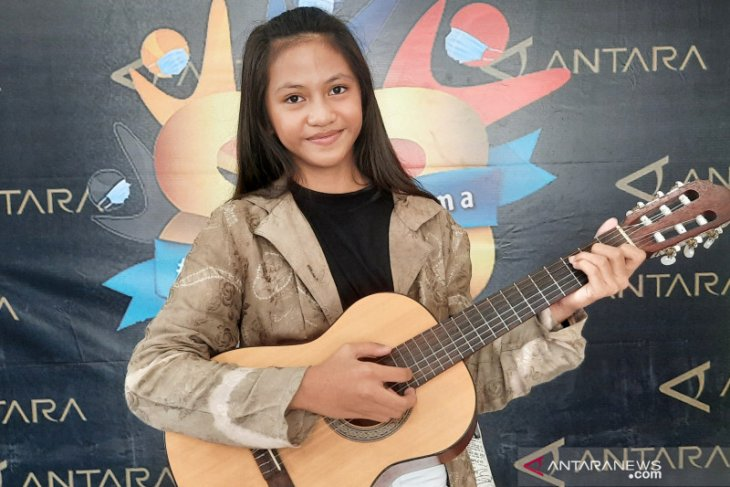 Shouma Hadzir, anak berprestasi mengangkat lagu Banjar