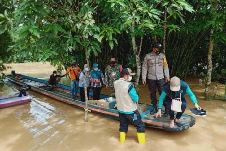 Camat perkirakan banjir di perbatasan karena kiriman dari negara tetangga