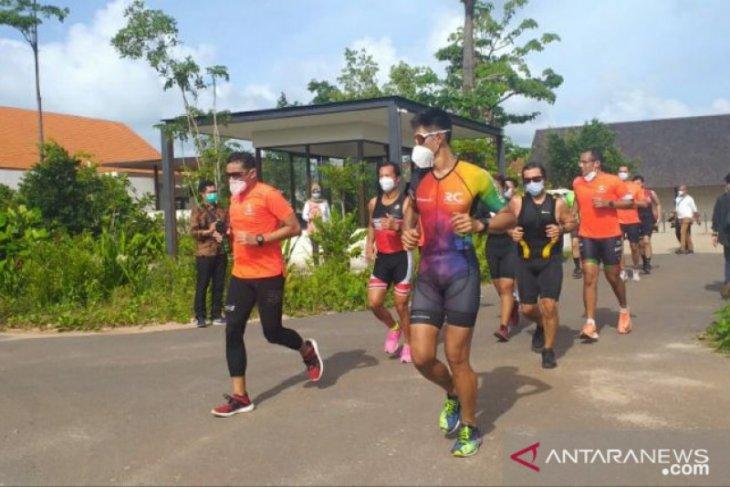 Menparekraf pastikan kesiapan Belitung gelar Indonesian Triathlon Series 2021