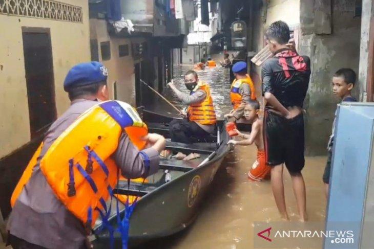 BPBD DKI: Banjir di Jakarta tertangani dengan baik