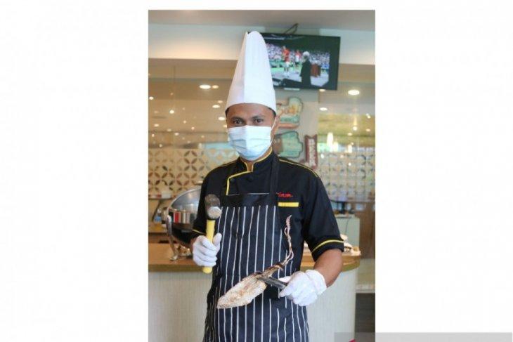 Sotong Pangkong kuliner khas Pontianak hadir di hotel bintang empat