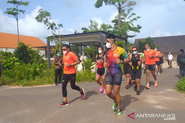 Menparekraf pastikan  Belitung akan gelar Indonesia Triathlon Series 2021