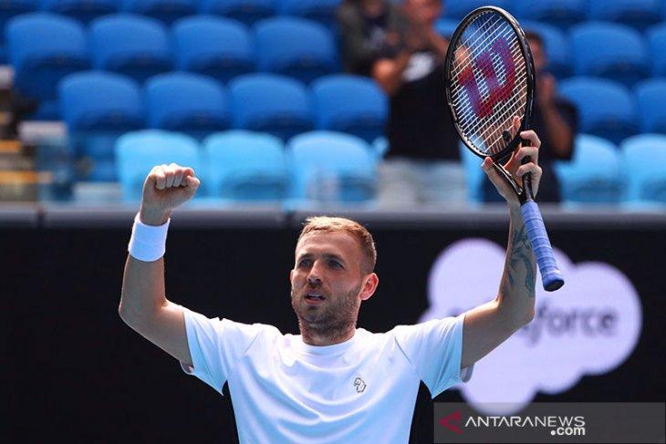Daniel Evans ke semifinal ATP Masters 1000 pertamanya di Monte Carlo