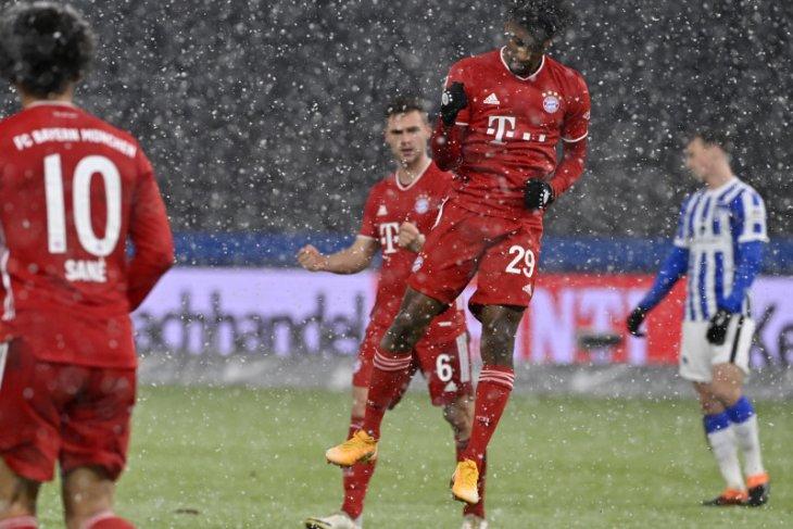 Klasemen Liga Jerman, komposisi empat teratas berubah