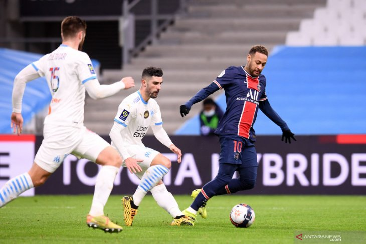 Liga Prancis: PSG rengkuh Le Classique edisi ke-100, lumat Marseille yang nirpelatih