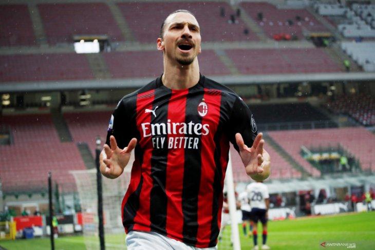 Nasib Ibrahimovic masih belum pasti di AC Milan