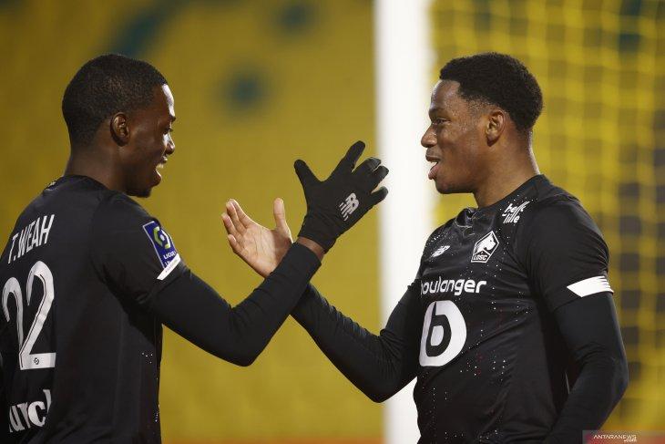 Liga Prancis, Lille kembali ambil alih puncak dari Lyon usai pecundangi Nantes