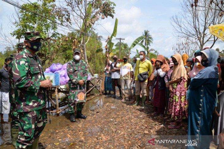 Danrem : Bantuan sampai normalisasi pascabanjir tuntas