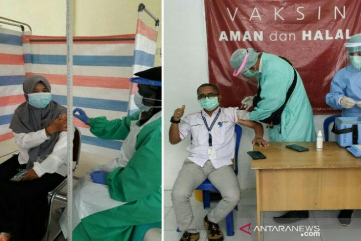 HSU's COVID vaccination the highest in South Kalimantan