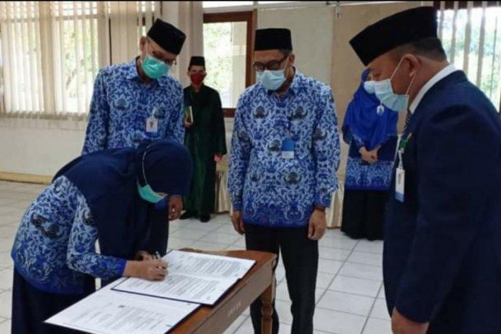 Kaper BKKBN Kalbar ambil sumpah/janji Pejabat Fungsional dan Pembinaan ASN