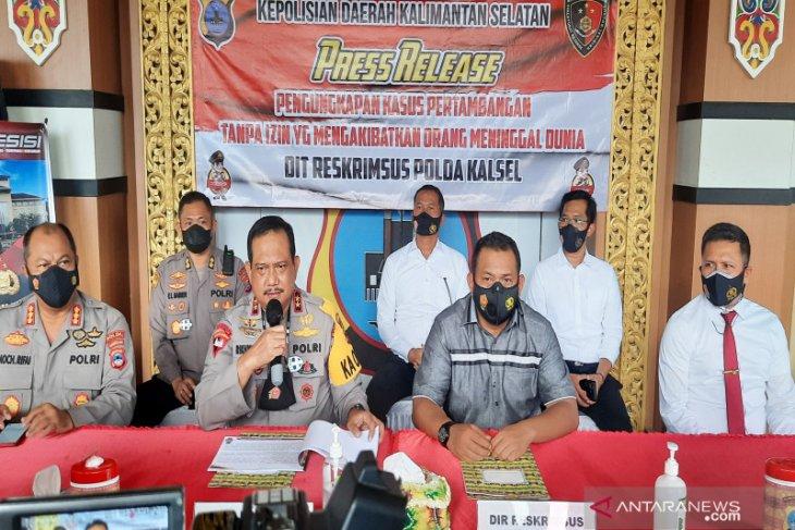 Empat petinggi PT CAS tersangka longsor tambang di Tanah Bumbu