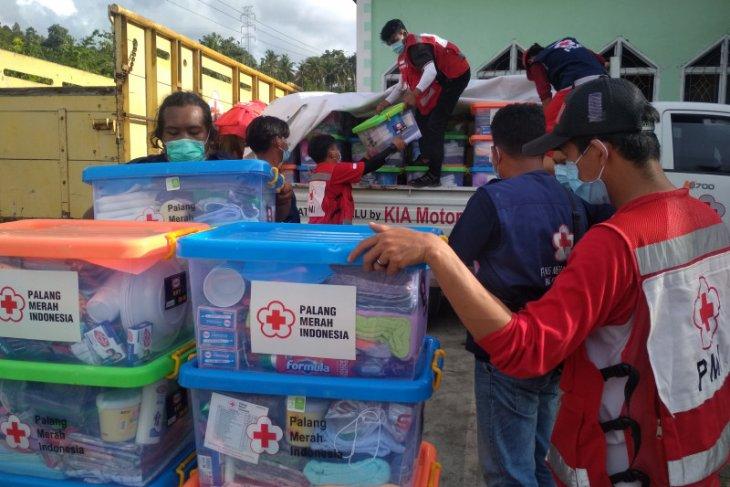 PMI salurkan paket bantuan untuk korban gempa Sulbar