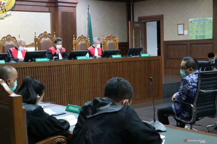 Mantan Kakorwas Brigjen Pol Prasetijo Utomo dituntut 2,5 tahun penjara
