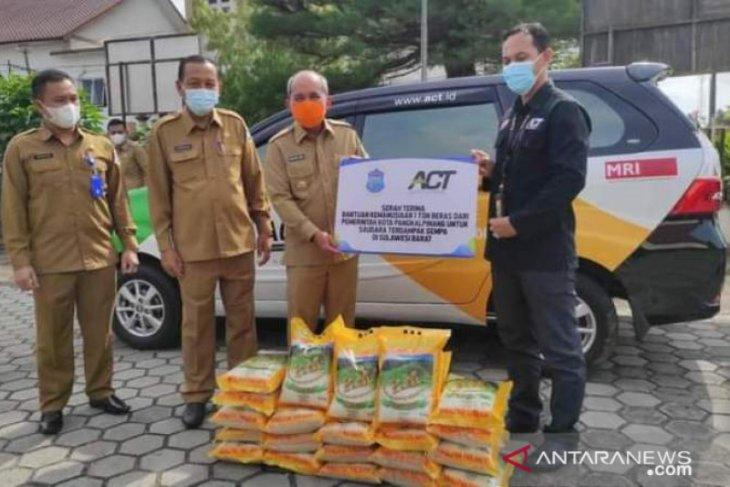 Pemkot Pangkalpinang bantu satu ton beras untuk korban gempa Majene