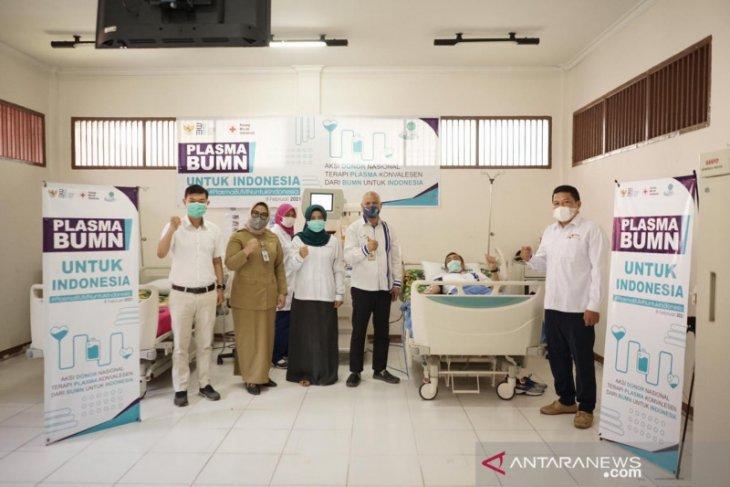 Satgas BUMN Kalbar ikut donor plasma konvalesen