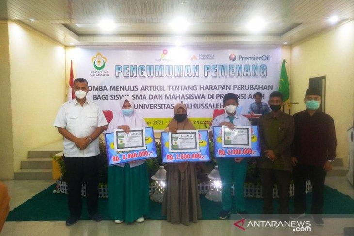 Ini pemenang lomba menulis artikel harapan perubahan Aceh Hebat