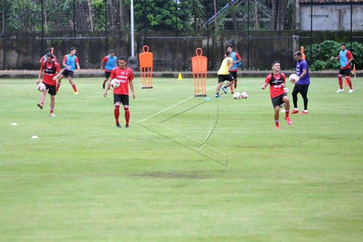 Latihan perdana Bali United
