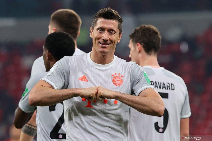 Dua gol Lewandowski, Bayern Munchen ke final Piala Dunia Klub