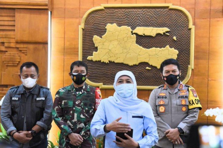 Gubernur Jatim: PPKM mikro kembali diperpanjang