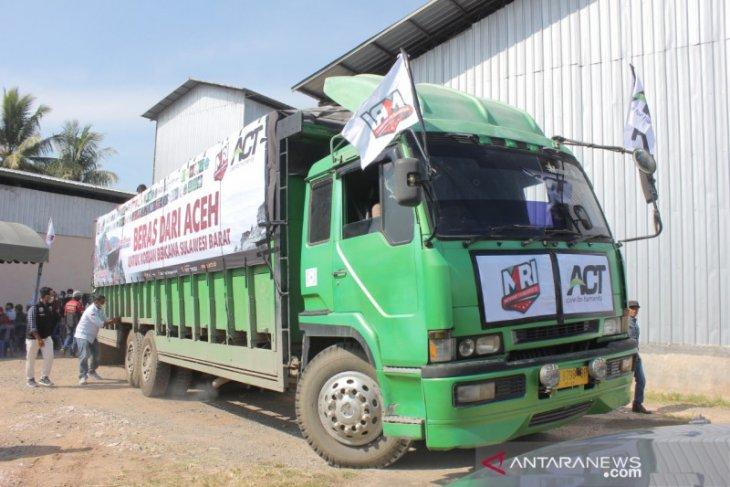 Aceh Besar kirim 13,3 ton beras bagi korban gempa Sulbar