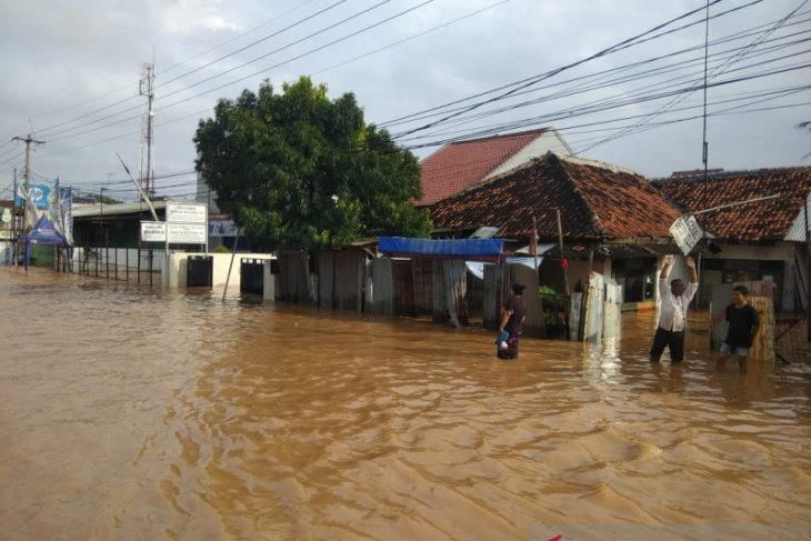 Over 5,300 homes flooded in W Java's Karawang district