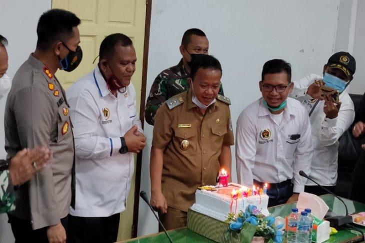 PWI bersama Pemkab dan Muspida Tapteng rayakan HPN 2021