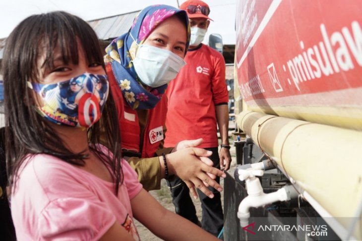 PMI edukasi pengungsi gempa Sulbar pentingnya penerapan prokes