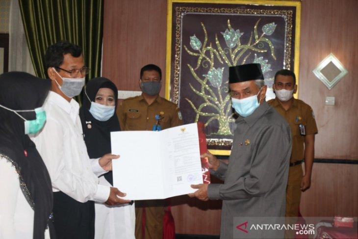 Bupati Banjar serahkan SK pengangkatan PPPK