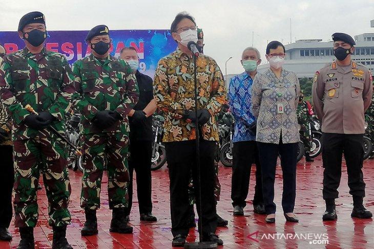 Menkes ungkapkan dua strategi untuk perang melawan pandemi virus corona