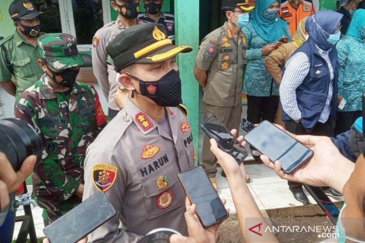 Kasus pembuangan sampah APD, Polres Bogor tetapkan dua tersangka