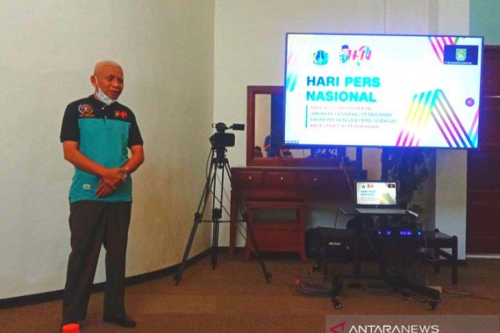 Di HPN 2021, Bupati Asahan minta PWI bekerjasama dalam wujudkan pembangunan