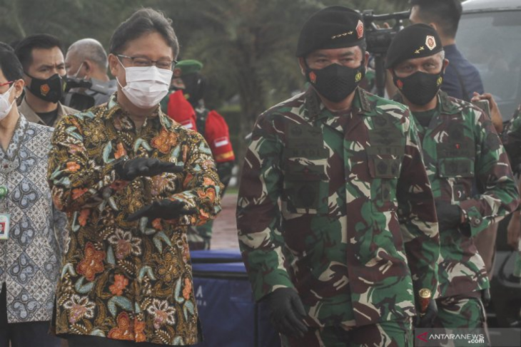 Apel kesiapan tenaga vaksinator di Mabes TNI