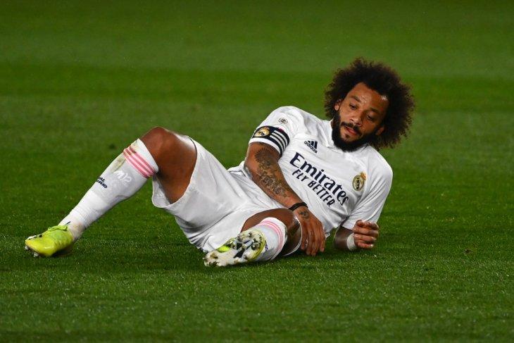 Marcelo bakal absen tiga pekan, Real Madrid krisis bek